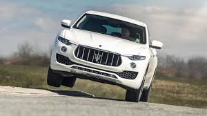 maserati suv maserati has decided to sell a petrol levante after all top gear