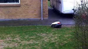 husqvarna robotic lawn mower youtube