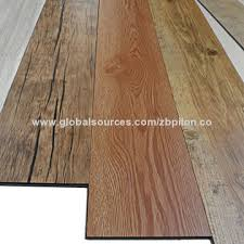 china 2015 type wood look pvc laminate plastic flooring plank