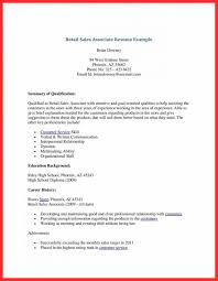 Work Experience Resume Sales Associate Retail Resume Format What To Include On Your Resume For Job In R