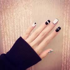 black white acrylic nail designs online black white acrylic nail