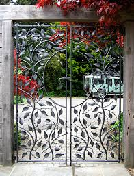 small metal garden gate ornamental garden gates andrailings