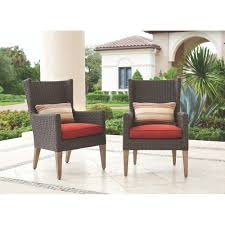Outdoor Wicker Dining Set Home Decorators Collection Naples Brown All Weather Wicker Outdoor