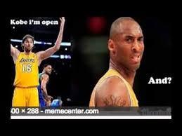 Kobe Bryant Memes - funny kobe bryant memes youtube