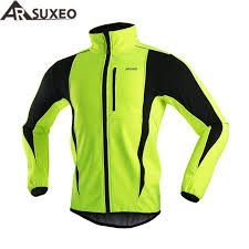 thermal cycling jacket arsuxeo 2017 thermal cycling jacket winter warm up bicycle clothing
