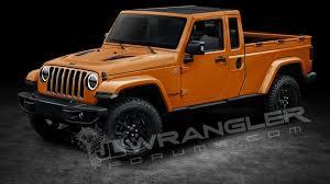 jeep wrangler orange and black jeep wrangler pickup could be called scrambler