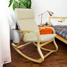 Rocking Chair Living Room Furniture 13 Comfortable Relax Rocking Chair With Foot Rest