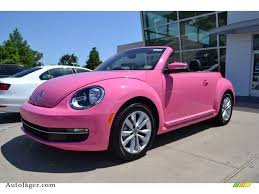black volkswagen bug 2013 volkswagen beetle tdi convertible in custom pink 822269