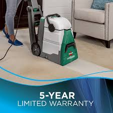 big green professional carpet cleaner bissell