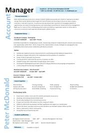 Resume Job Duties Resume Account Manager Resume Bullets Example 8 Template Sample