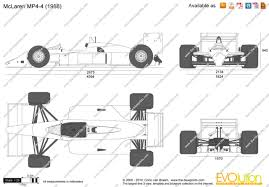 mclaren drawing the blueprints com vector drawing mclaren mp4 4