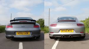 porsche 911 turbo sound porsche 996 turbo vs turbocharged 991 2 which 911 sounds