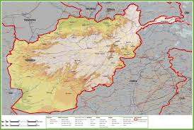 China Map Cities by Large Detailed Map Of Afghanistan With Cities And Towns