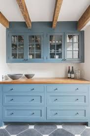 Light Blue Kitchen Cabinets by 11 Reasons To Paint Your Walls Blue Kitchen Cabinetry Blue Grey