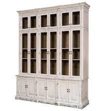 white french country glassfront cabinet belle escape life in