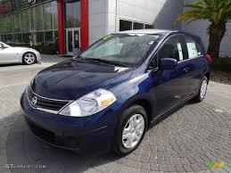 blue nissan versa 2012 blue onyx metallic nissan versa 1 8 s hatchback 62243885