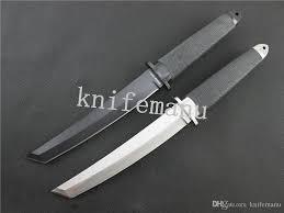 new cold steel small san mai samurai survival fixed knives 440c