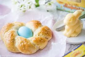 pastel easter eggs easter egg bread baking a moment