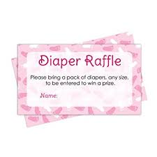 raffle baby shower raffle tickets girl baby shower invitation