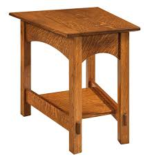 wedge shaped end table mccoy wedge shaped end table