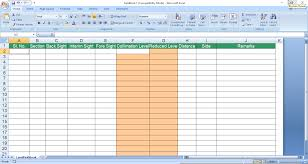 Data Table Design Cs Software Help Importing Cross Section Data From Excel