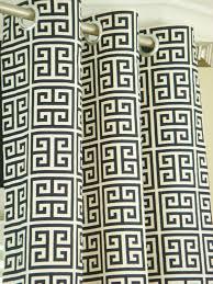 Greek Key Pattern Curtains 23 Best Drapes Images On Pinterest Drapery Panels Window