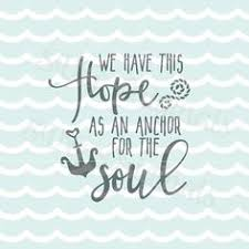 Hypolita Love Anchors The Soul - decordesigns an anchor during rough waters wall decal water