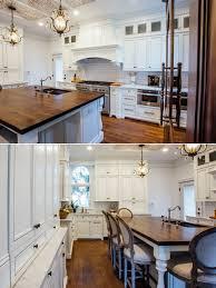 white glazed kitchen with walnut countertop white glazed kitchen with walnut countertop elite designs international custom cabinetry millwork buffalo