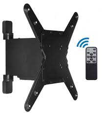 tv wall mount swing out motorized tv wall mount bracket with full motion swing out and