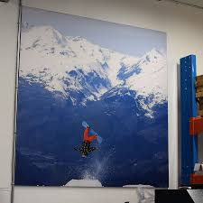 fabric wall mural reusable