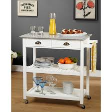 rolling kitchen island simple living oregon 2 drawer rolling kitchen island free