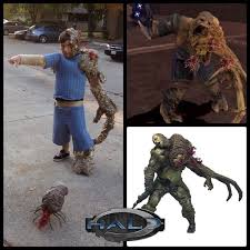 Halloween Costumes Halo Tonio U0027s Halo Flood Infected Costume 9 Steps Pictures