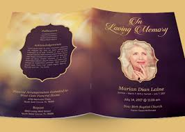 sle of funeral programs funeral program search kd kreations