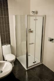 Bathroom Stalls Without Doors Bathrooms Design Seamless Glass Shower Bathroom Units Corner Tub