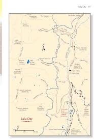 Colorado National Parks Map by Lulu City Rocky Mountain National Park