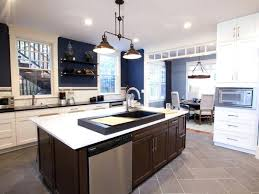 contemporary island kitchen island kitchen layouts awesome contemporary kitchen designs