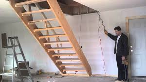 fancy retractable staircase 87 on house decoration with