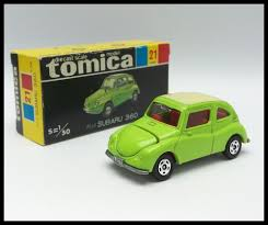 subaru 360 van tomica black box 21 subaru 360 1 50 tomy diecast car used made in