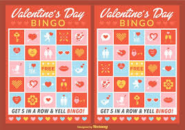 s day bingo vector bingo cards free vector stock