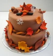 thanksgiving fondant cake made by www arlyscakes com cupcake
