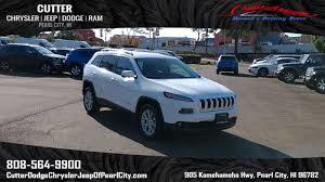 2018 jeep new 2018 jeep cherokee latitude plus sport utility in pearl city