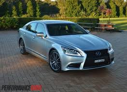 lexus is f sport 2015 2013 lexus ls 600h f sport review video performancedrive