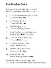 best 25 divisibility rules ideas on pinterest division chart