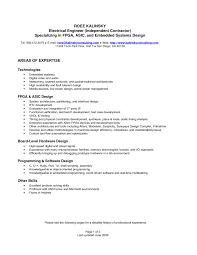 Electrical Engineering Resumes Embedded Design Engineer Resume Resume For Your Job Application