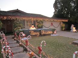 front yard christmas decorations lovely outdoor lit christmas