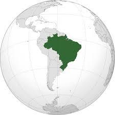 de janeiro on the world map brazil locator map