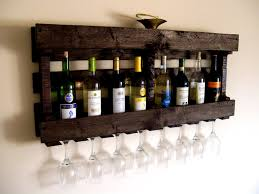 Diy Wood Wine Rack Plans by Ergonomic Pallet Wine Shelf 58 Pallet Furniture Wine Rack Diy Wine