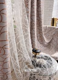 and brown patterned custom overstock grey curtains