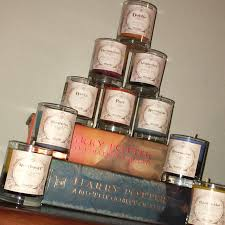 themed candles harry potter themed candles vegan candles poured candles