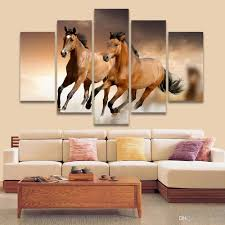 2017 5 panel painting running horse painting canvas art prints 2017 5 panel painting running horse painting canvas art prints animal wall pictures for living room bedroom home decoration unframed from asenart